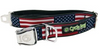 Cycle Dog Stars & Stripes Adjustable Collar