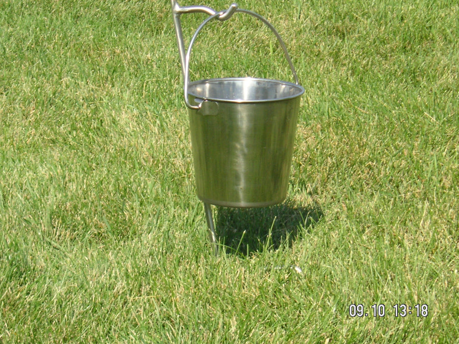 Don's Forever Stainless In Ground Pail Holder