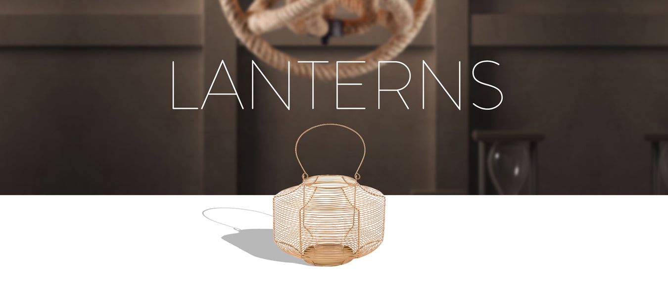Lanterns & Candles Holders