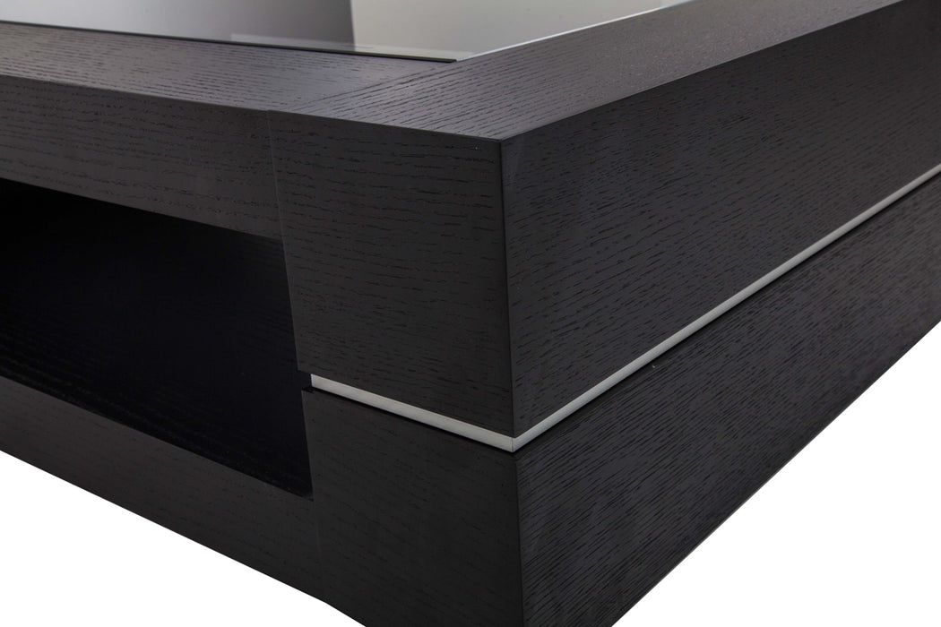 Modrest Mesa - Modern Black Oak Coffee Table