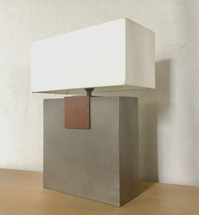 Modrest Santos Modern Concrete Table Lamp