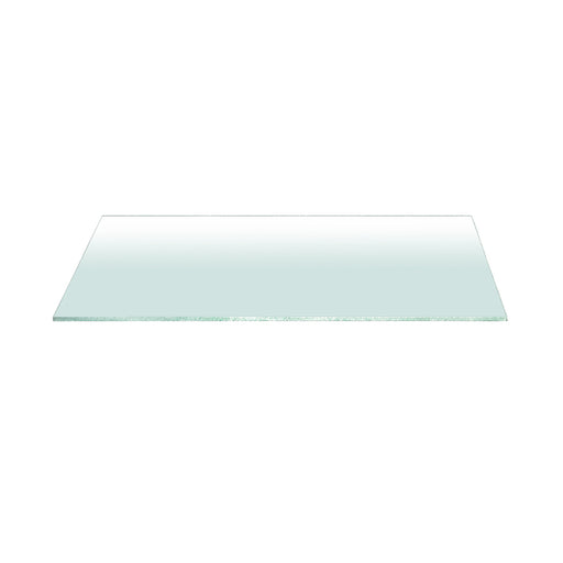 "Clear 59"" x 20"" Console Table Top in Clear Glass Clear rectangle glass top for console table. Featuring ,  W:59"" D:20"" H:0.75"" Ritz Collection"