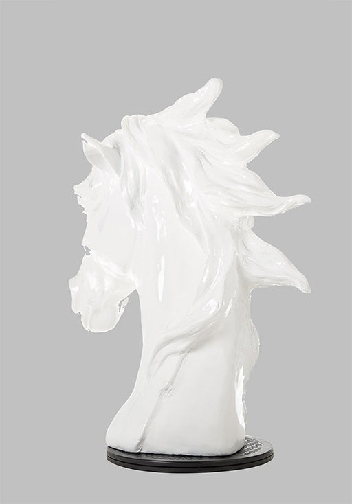 Modrest SZ0002 - Modern White Horse Head Sculpture
