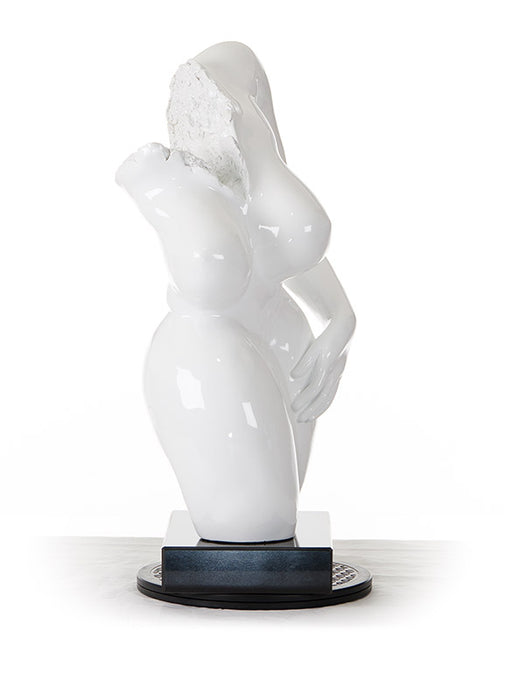 Modrest SZ0308 - Modern White Feminine Sculpture