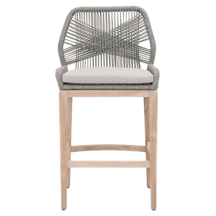 Wondrous Loom Outdoor Barstool Squirreltailoven Fun Painted Chair Ideas Images Squirreltailovenorg