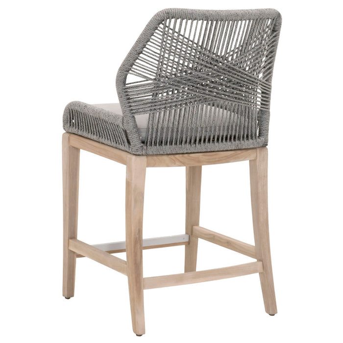 Loom Outdoor Counter Stool