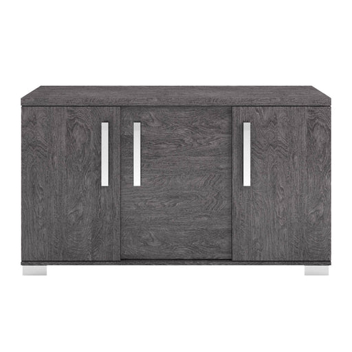 "Noble Buffet in Grey Birch High Gloss Contemporary buffet featuring Grey Birch frame with interior storage. Featuring 100% Made In Italy, Coordinating Buffet and Chair W:59"" D:19.5"" H:33.5"" Vivente Collection"