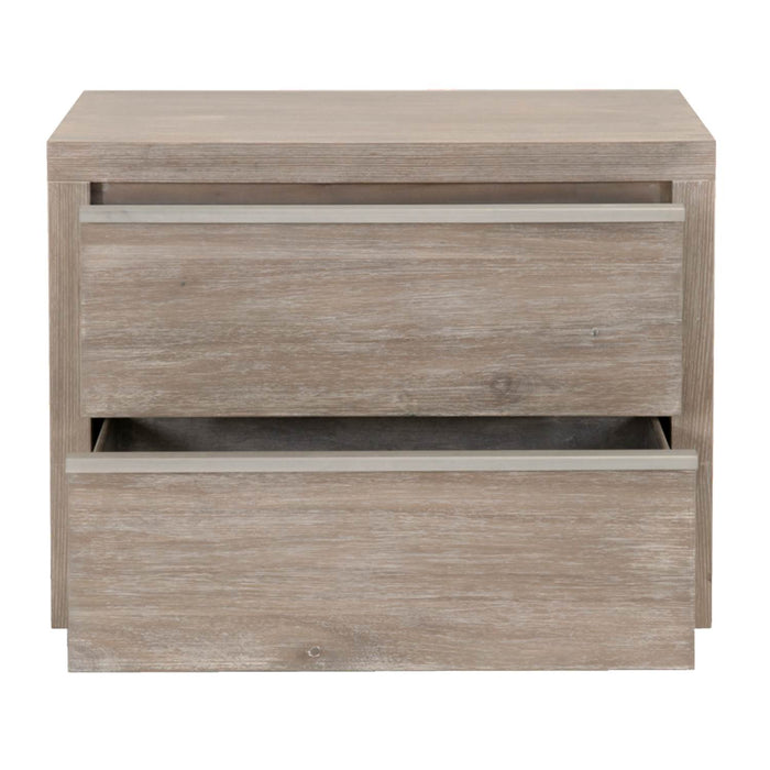 Steele 2-Drawer Nightstand