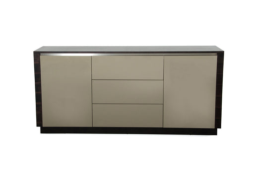 A&X Caligari Modern Oak & Grey Gloss Buffet