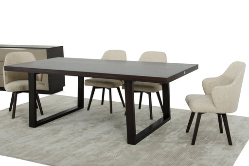 A&X Caligari Modern Oak Dining Table