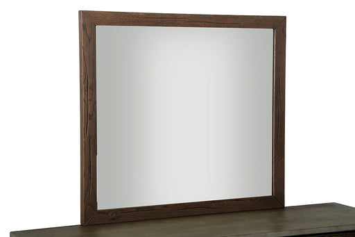 Modrest Selma Modern Dark Aged Oak Mirror