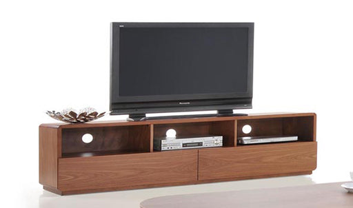 Modrest Jett Modern Walnut TV Stand