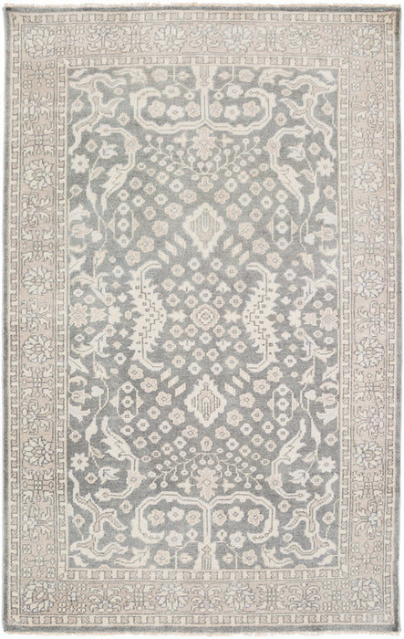 CPP-5007 edition. Variant Number CPP5007-3656 is an Area Rugmanufactured, and tailored by Suryarugs, and part of the Cappadocia Collection. Cappadocia is one of our top selling best sellers, and Hand Knotted in India.  Made with Knot type  with elegant details , Fringe Detail. Made with 100% Wool  material in Wool, 100% Wool. Backing is No Backing and this beautiful rug is in the colors Charcoal, Moss, Sage, Medium Gray. T