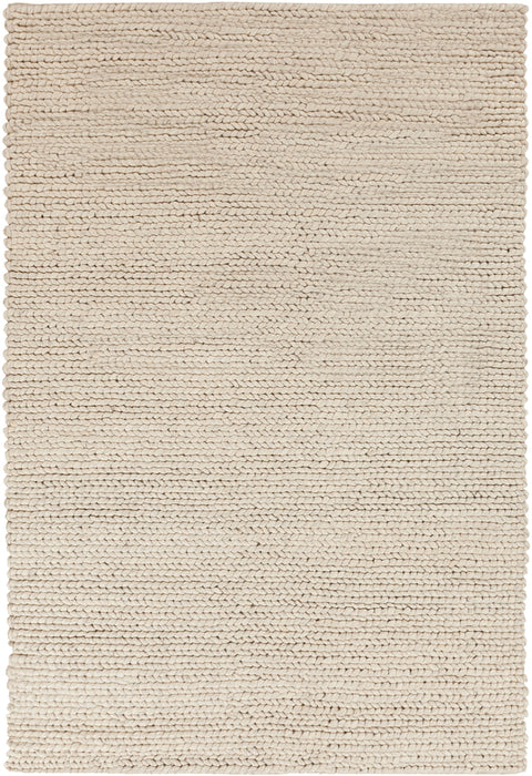 DSO-202 edition. Variant Number DSO202-1616 is an Area Rugmanufactured, and tailored by Suryarugs, and part of the DeSoto Collection. DeSoto is one of our top selling best sellers, and Hand Woven in India.  Made with Knot type  with elegant details , Undyed. Made with 100% Wool  material in Wool, 100% Wool. Backing is No Backing and this beautiful rug is in the colors Cream, Dark Brown. T