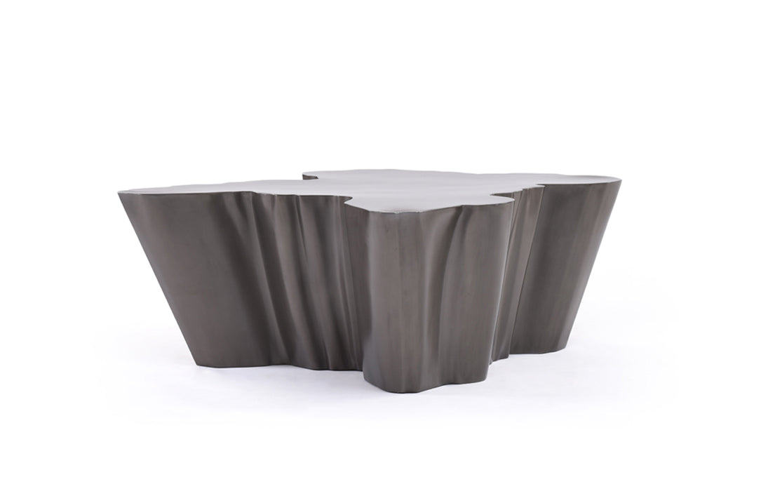 Modrest Knollwood Modern Gun Metal Black Coffee Table