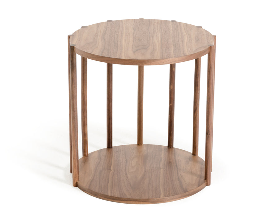 Modrest Lark Modern Walnut End Table