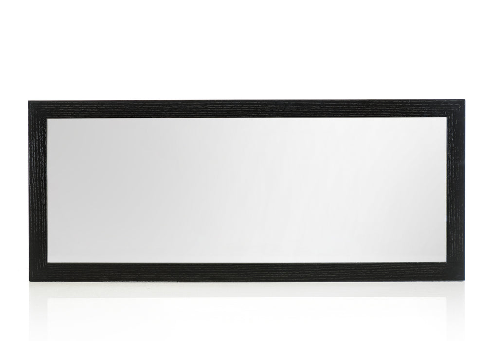 Modrest Logan Modern Black Oak Mirror