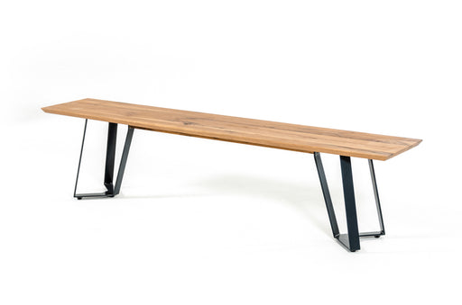 Nova Domus Pisa Modern Drift Oak Dining Bench