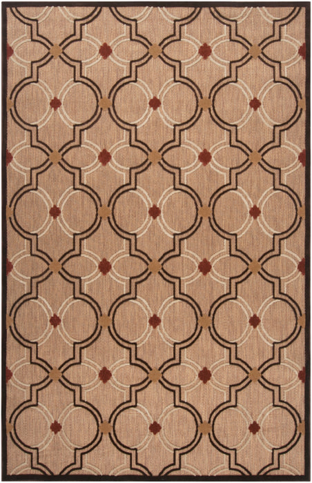 PRT-1049 edition. Variant Number PRT1049-576 is an Area Rugmanufactured, and tailored by Suryarugs, and part of the Portera Collection. Portera is one of our top selling best sellers, and Machine Made in Turkey.  Made with Knot type  with elegant details .  Made with 100% Olefin  material in Olefin, 100% Olefin. Backing is No Backing and this beautiful rug is in the colors Khaki, Dark Brown, Wheat, Clay. T