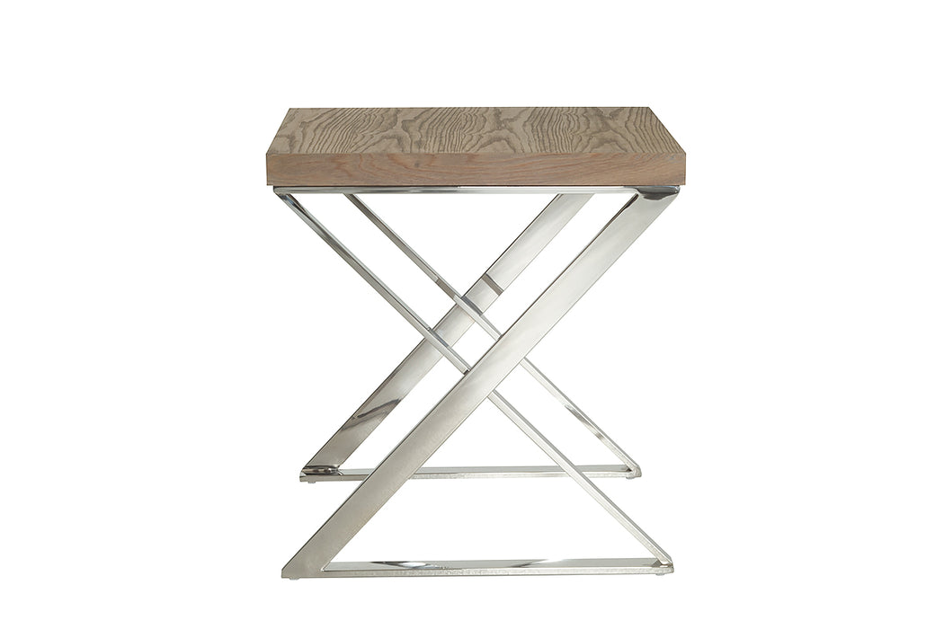Modrest Rowlett Modern Antique Ash End Table