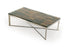 Modrest Santiago Modern Rectangular Wood Mosaic Coffee Table