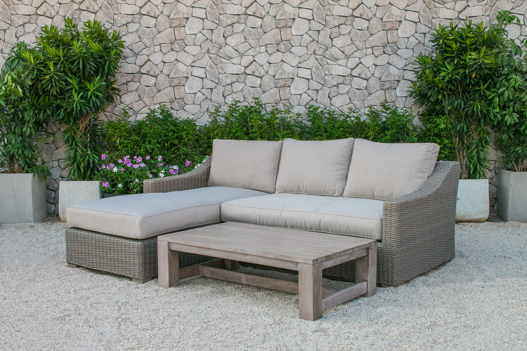 Remarkable Renava Seacliff Outdoor Wicker Sectional Sofa Set Onthecornerstone Fun Painted Chair Ideas Images Onthecornerstoneorg