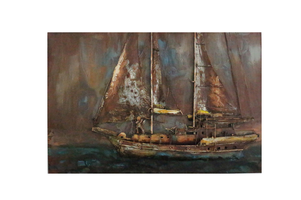 Modrest Pinnace Modern Boat Painting