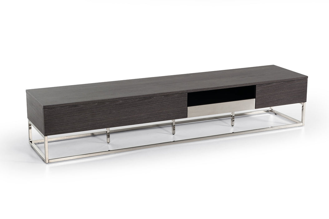 Modrest Vernon Modern Grey Elm TV Stand