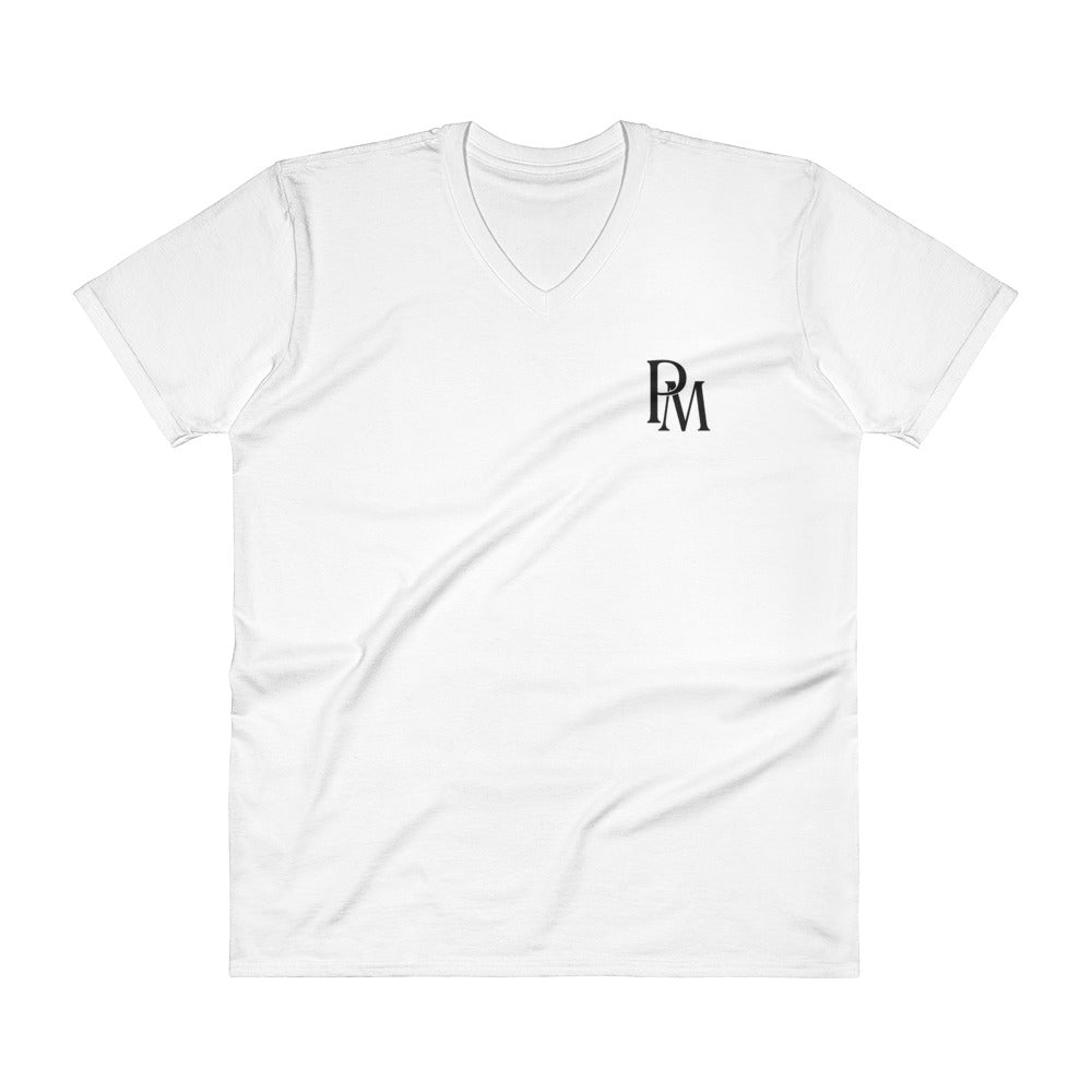 PM Monogram v-neck T-shirt