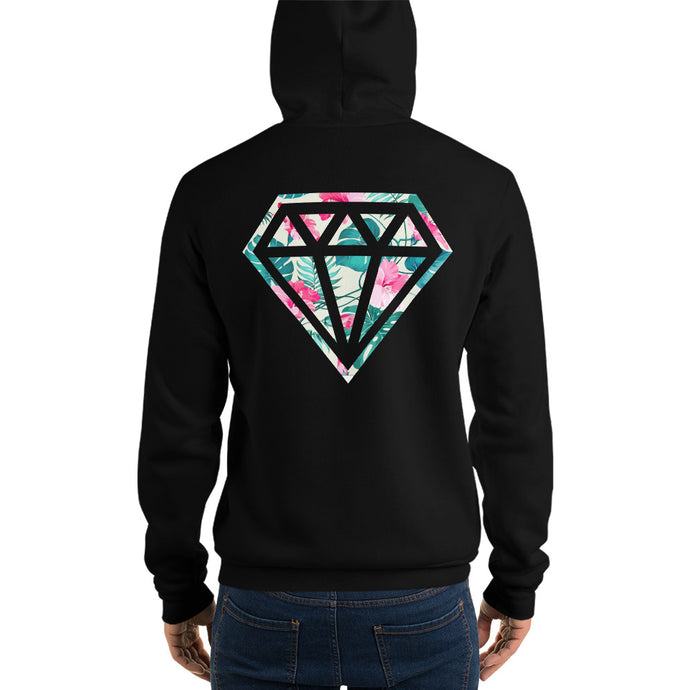 Diamonds and Flowers Hoodie