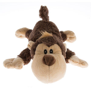 Cozie Spunky Monkey Dog Toy