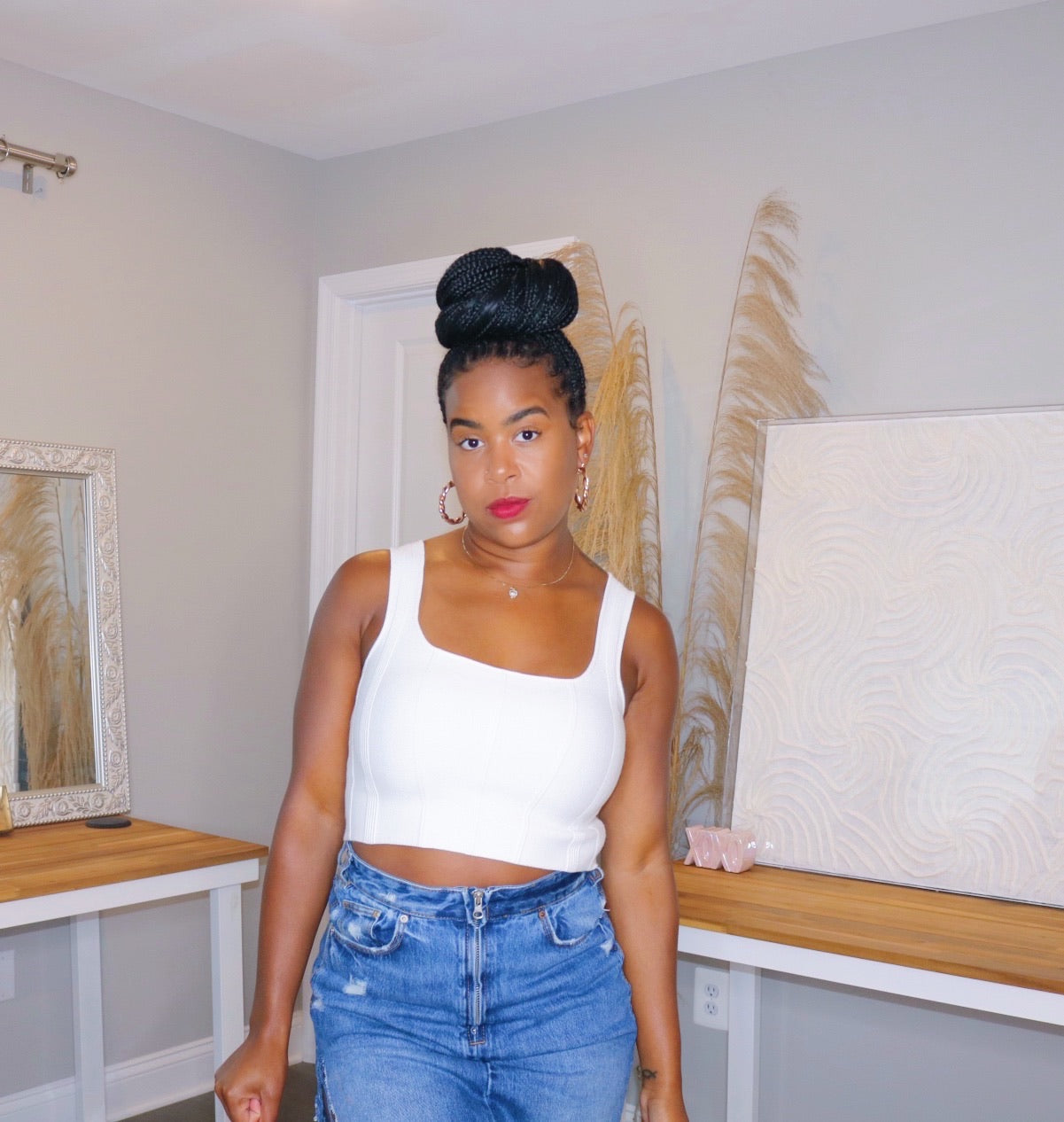 Effortless Knit Crop Top