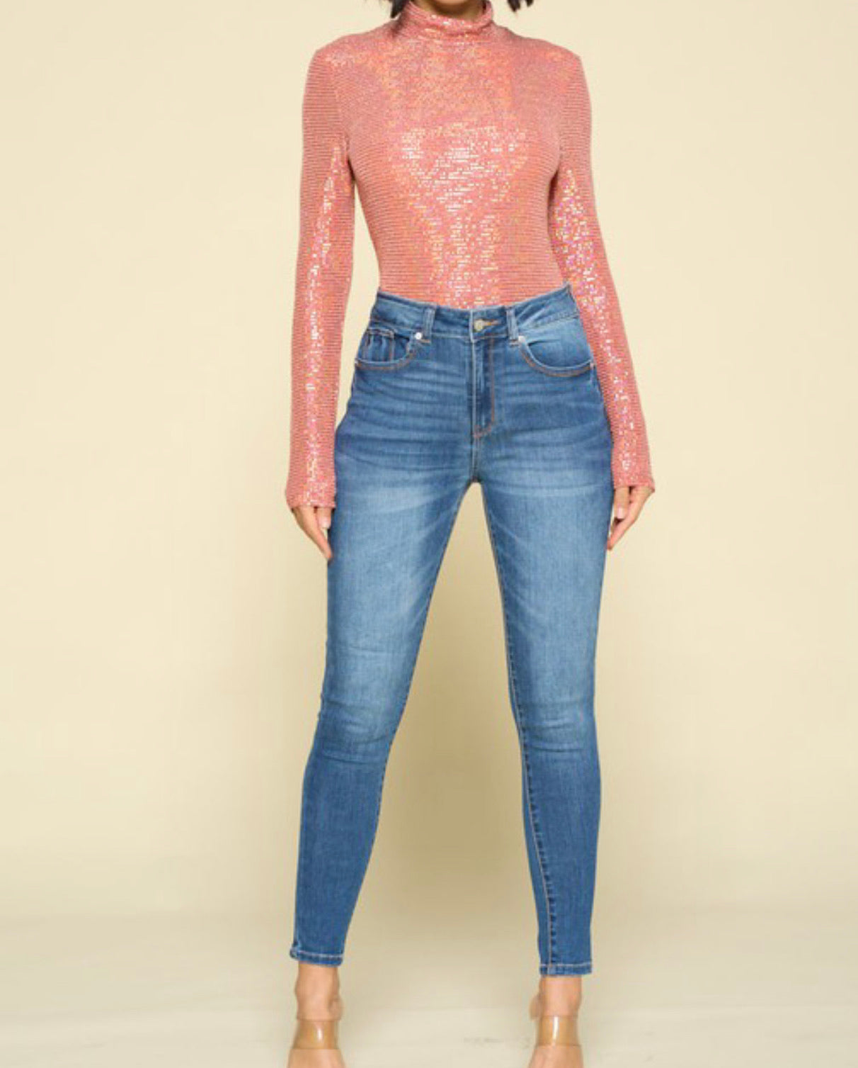 Stand Out | Sequin Bodysuit | Shipping 2/6