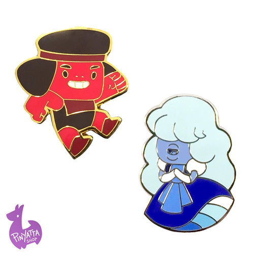 Ruby & Sapphire Pin Pack