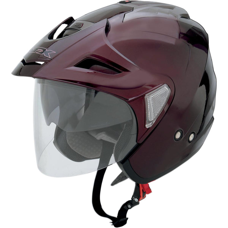 AFX FX-50 Solid Helmet Wine Red