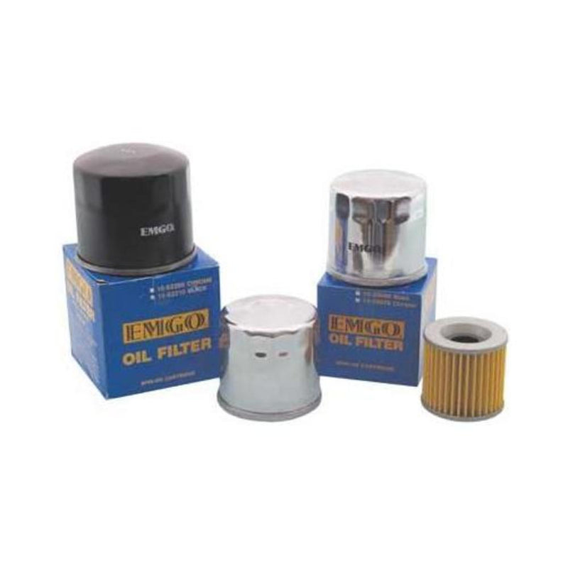 Emgo 10-07800 Oil Filter - Spin On - Chrome