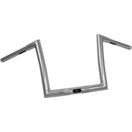 Todds Cycle 0601-3982 1 1/4in. Handlebar - 10in. Ape - Chrome
