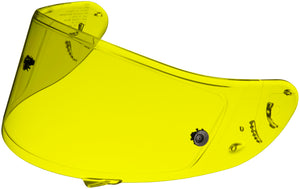 Shoei 0213-9503-00 CWF-1 Pinlock Shield with Tear-Off Post - HD Yellow