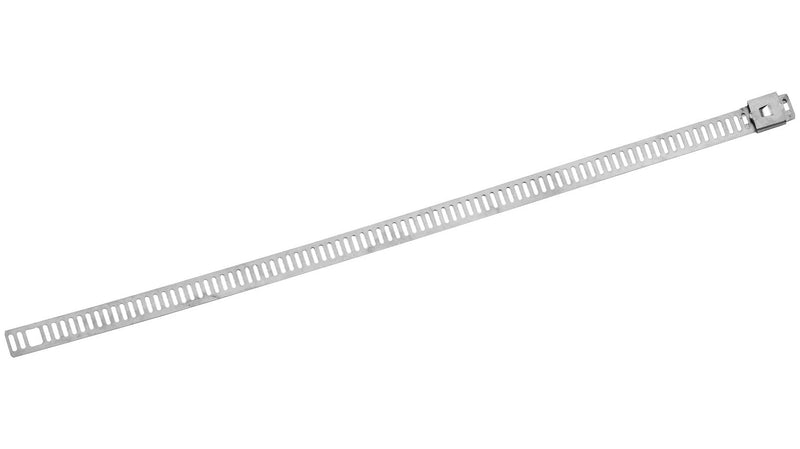 Helix Racing Products 304-0509 Ladder Style Stainless Steel Cable Ties - 8in. - Silver