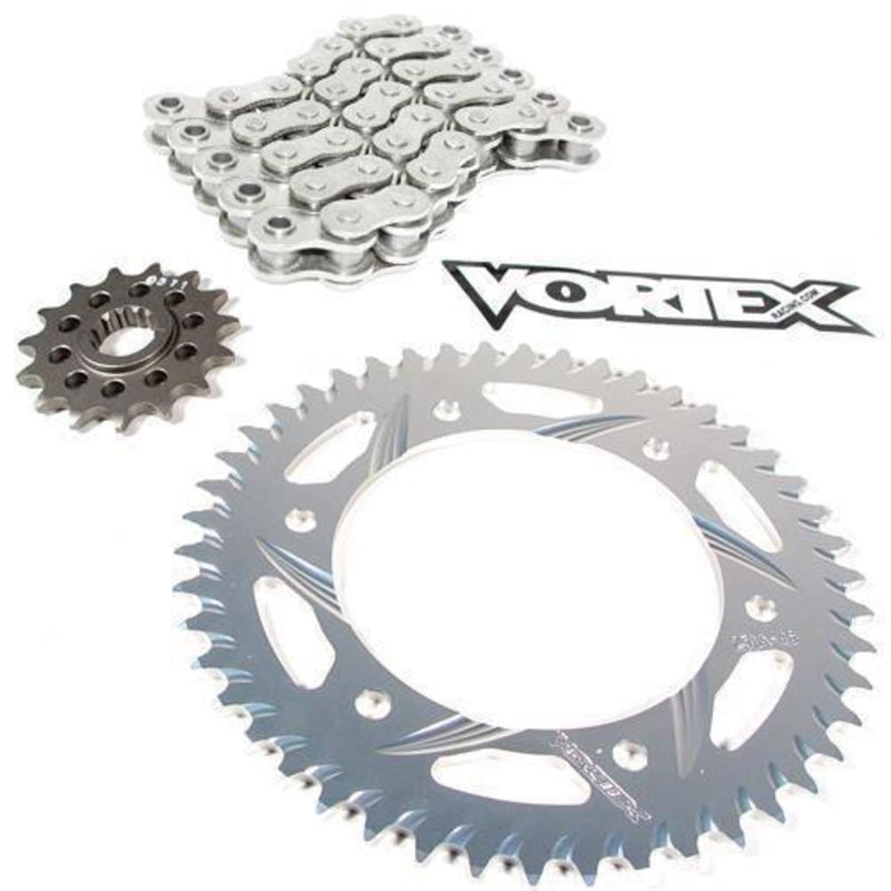 Vortex CKG4136 GFRS Go Fast 520 Street Conversion Chain and Sprocket Kit - Gold