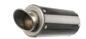 Hotbodies Racing 61701-2404 MGP Growler Slip-On - Carbon Fiber Muffler