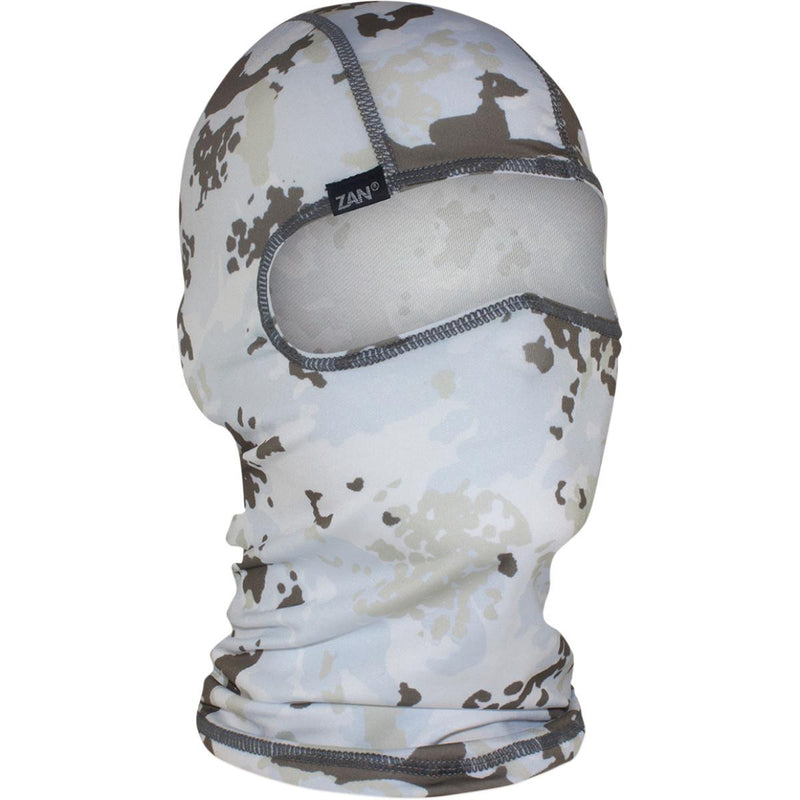 Zan Headgear Polyester Balaclava Winter Camo White