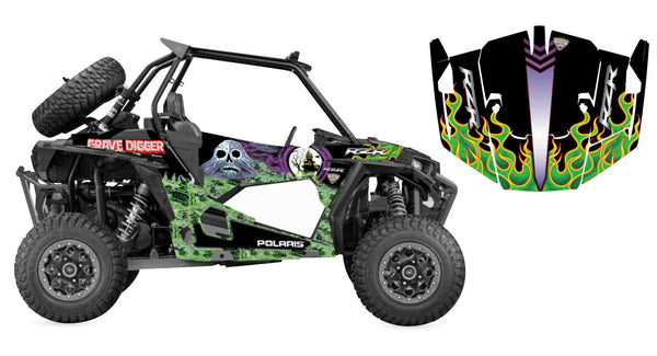 DCOR 20-60-103 Graphic Kit - Grave Digger
