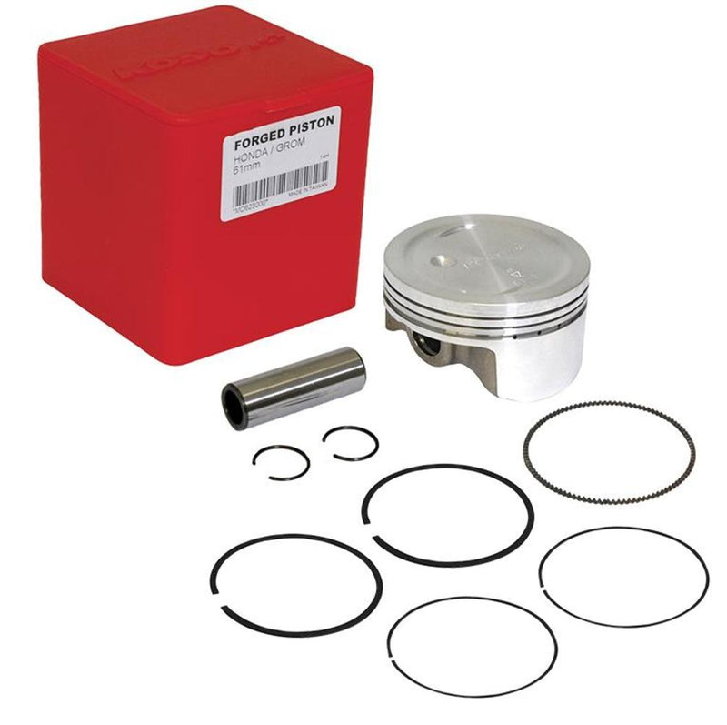 Koso North America MD623000 Forged Piston Kit for 170cc Big Bore Kit - 61mm