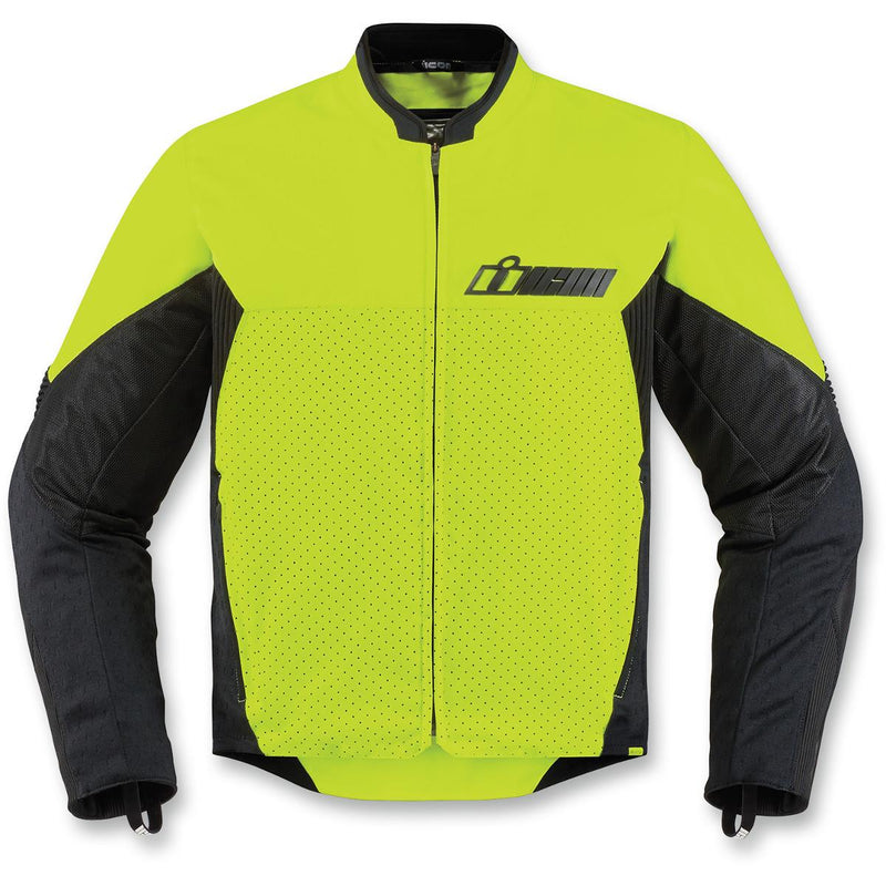 Icon Konflict Jacket Hi-Viz Yellow
