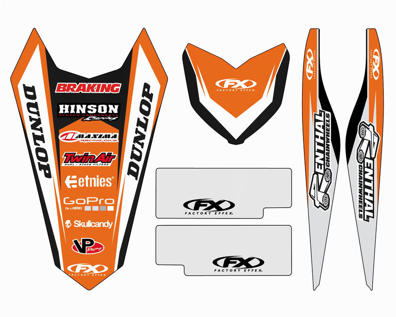 Factory Effex 17-50512 Trim Kit - KTM