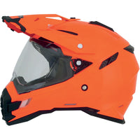 AFX FX-41DS Solid Helmet Safety Orange Orange