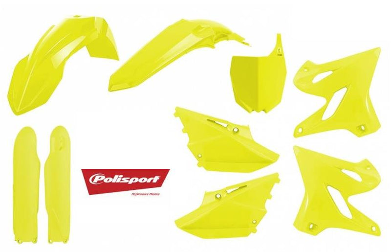 Polisport 90748 Plastic Kit - Flo Yellow