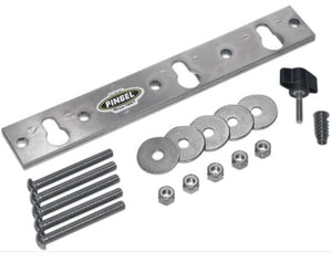 Pingel WC-TBM Mounting Plate for Removable Wheel Chock - Fits 3 1/2in. or 6 1/2in. Wheel Chocks