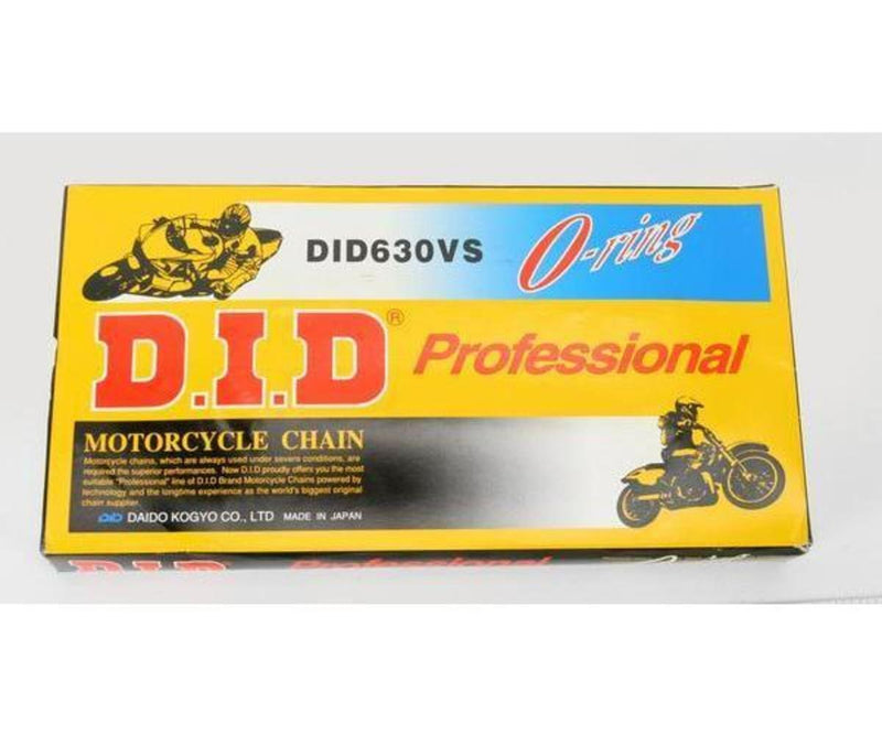 D.I.D 630VX120FB 630 V Professional O-Ring Series Chain - 120 Links